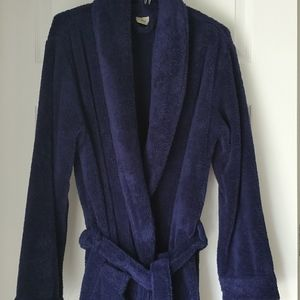 L.L. BEAN PLUSH BATHROBE